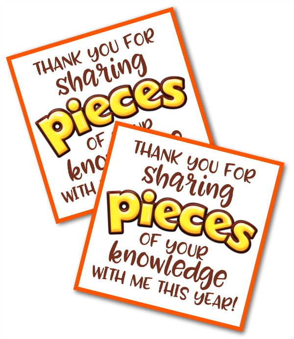 photograph relating to Thank You Printable named Instructor Thank By yourself Reward with Totally free Printable - Content-Move-Privileged