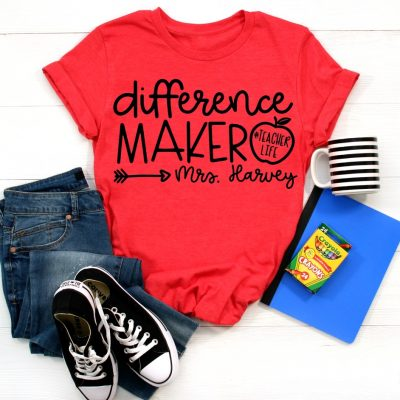 Difference Maker Red Shirt