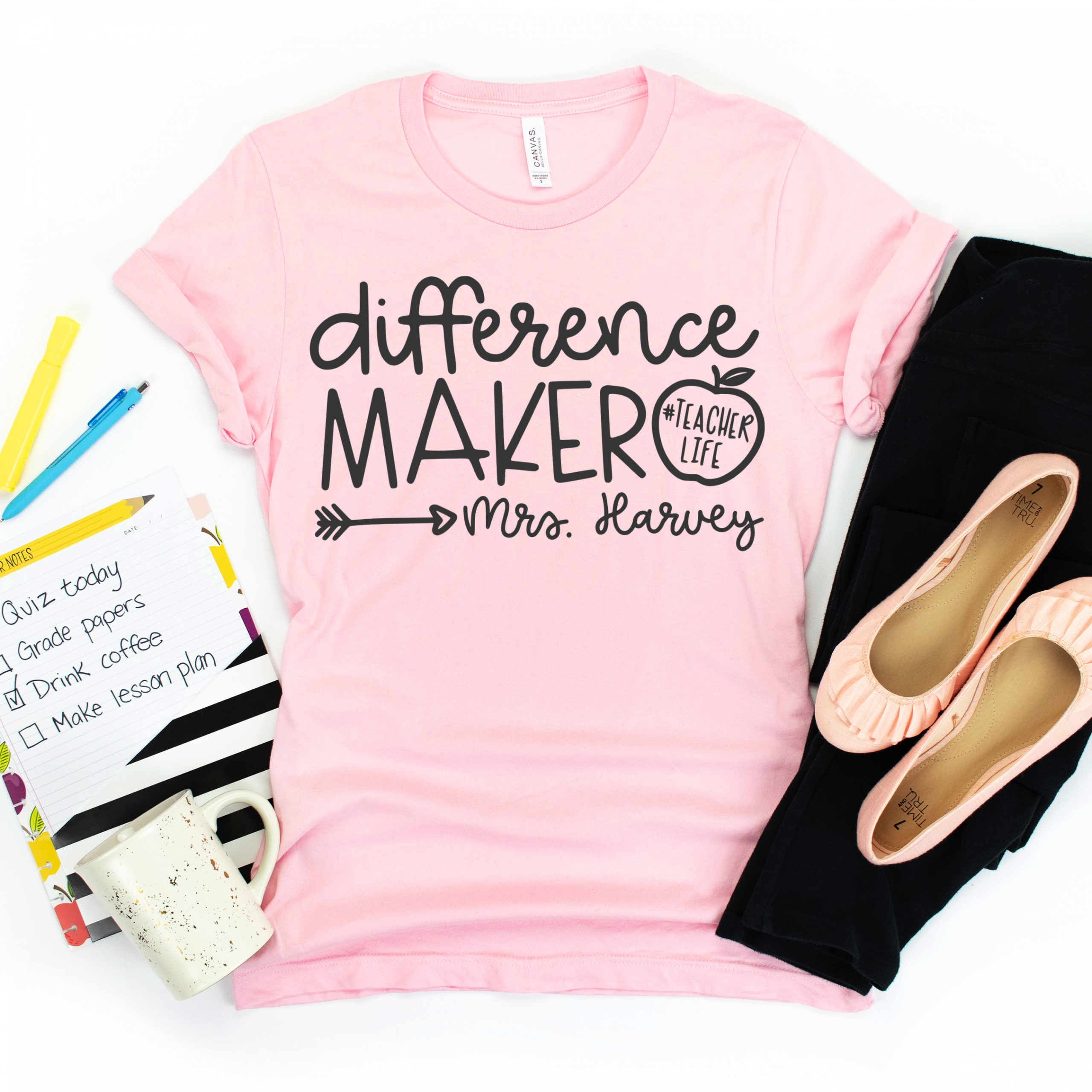 Difference Maker Teacher Shirt
