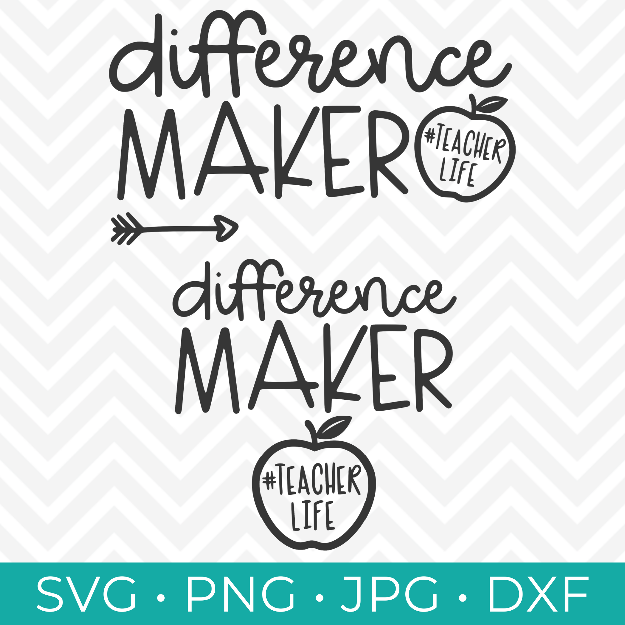 Difference Maker SVG Collection - Happy Go Lucky