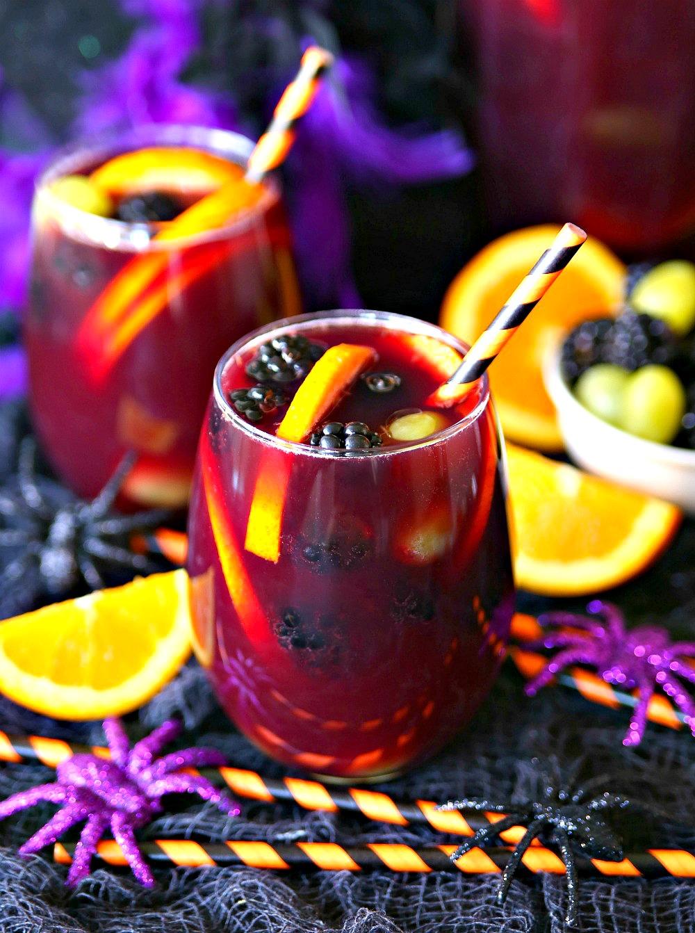 Spooktacular Halloween Sangria