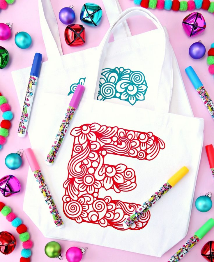 Personalized Color Your Own Gift Bags