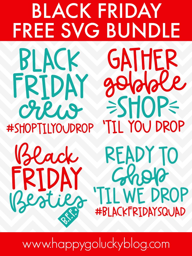 Black Friday SVG Bundle Free Download