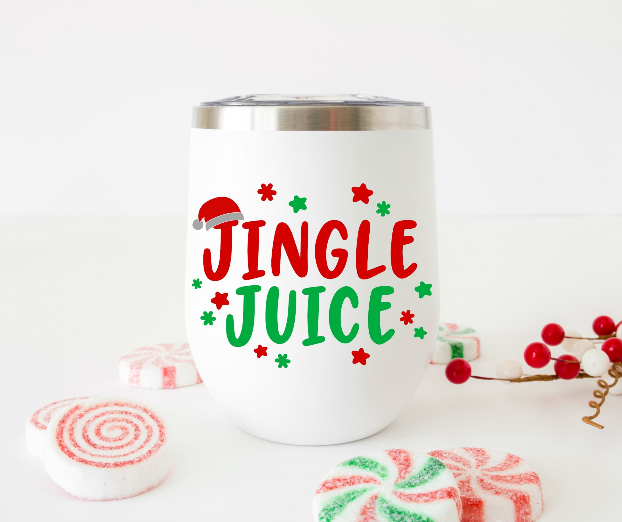 Christmas Drinking Svg Bundle Happy Go Lucky