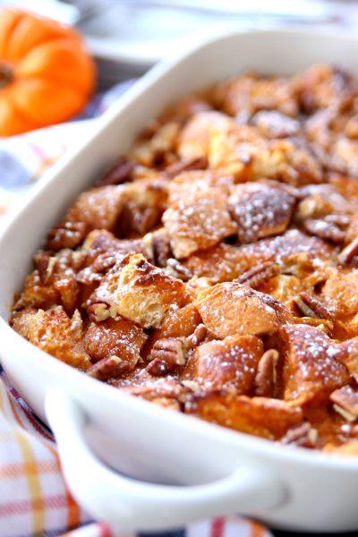 Pumpkin Croissant Bake The Perfect Fall Breakfast Bake