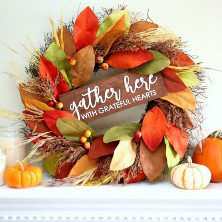 Apply HTV to Wood and Create a Wreath Sign