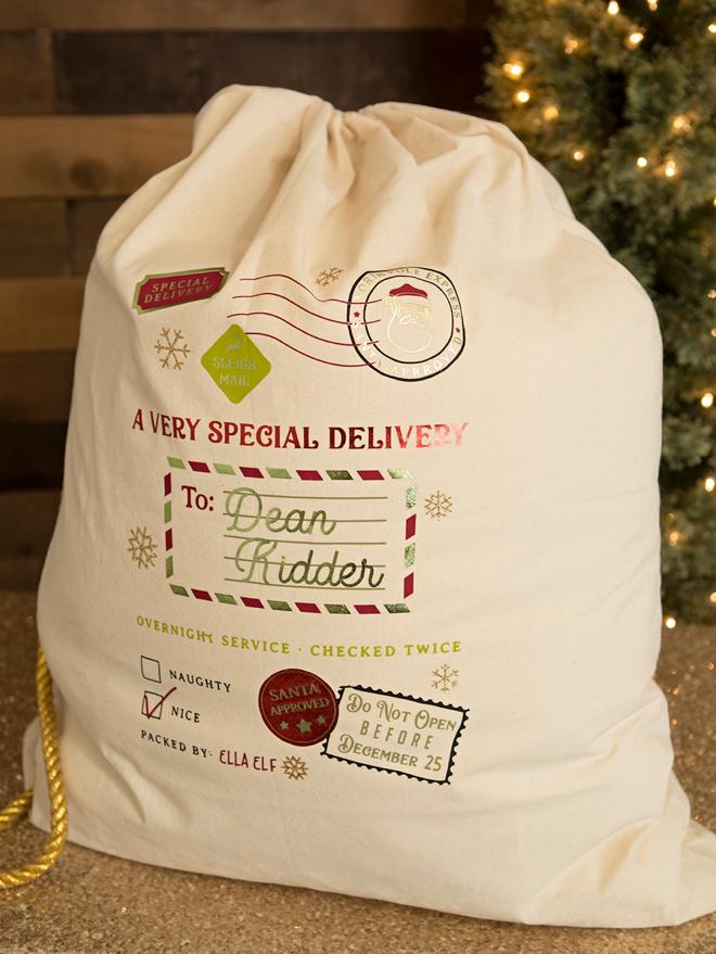 Oversized Santa Gift Bags