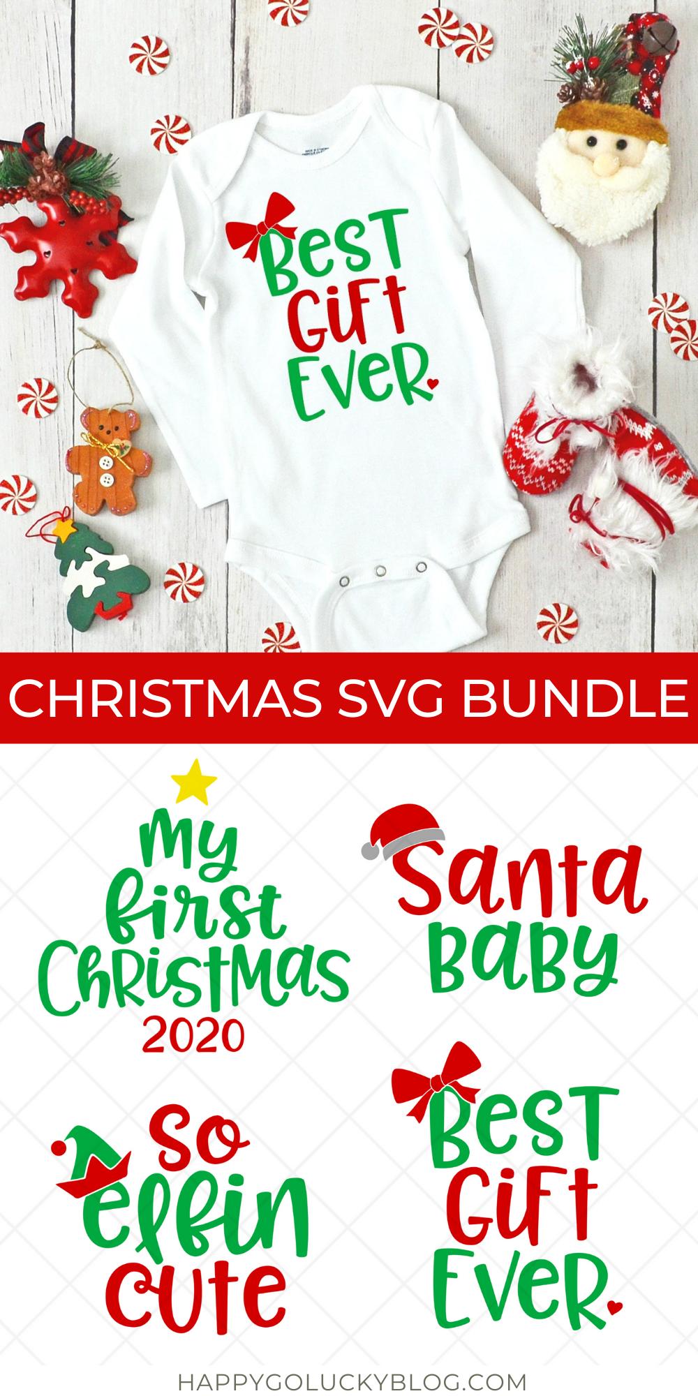 Christmas Baby SVG Bundle