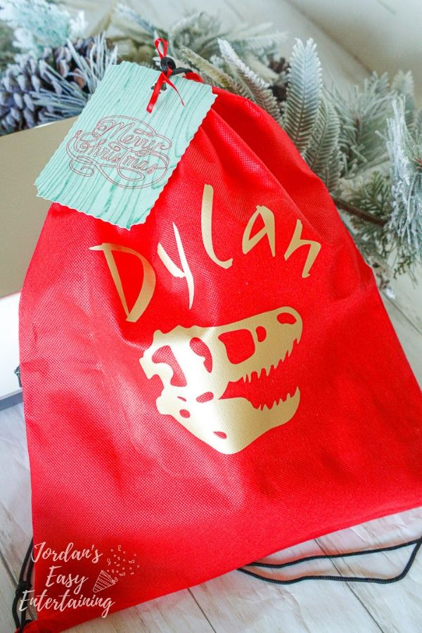 Personalized Reusable Gift Bags