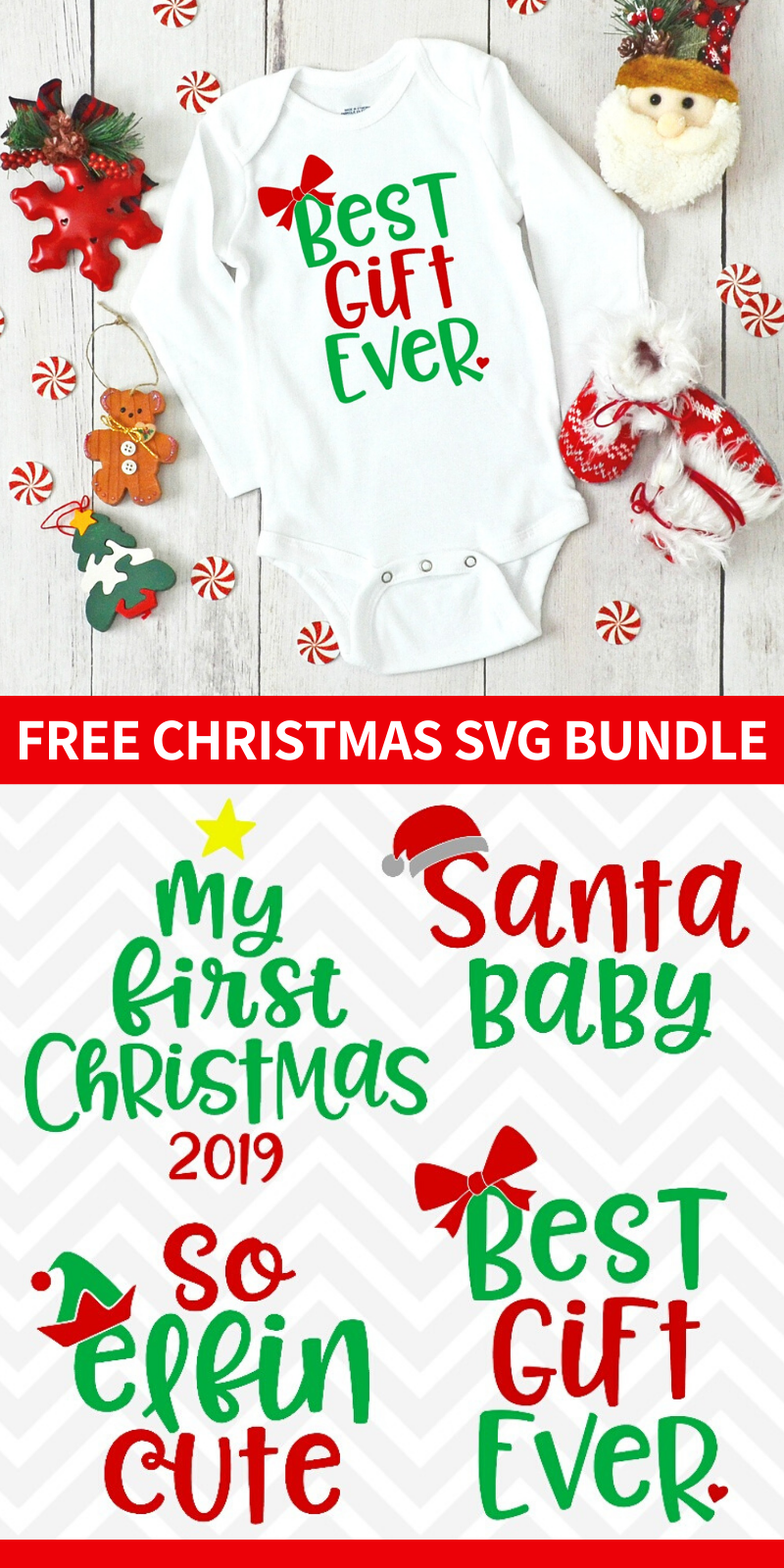 Baby's First Christmas SVG Bundle