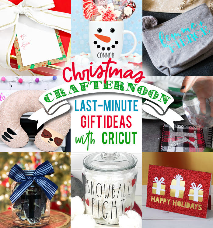 Last Minute Gifts Made with Cricut