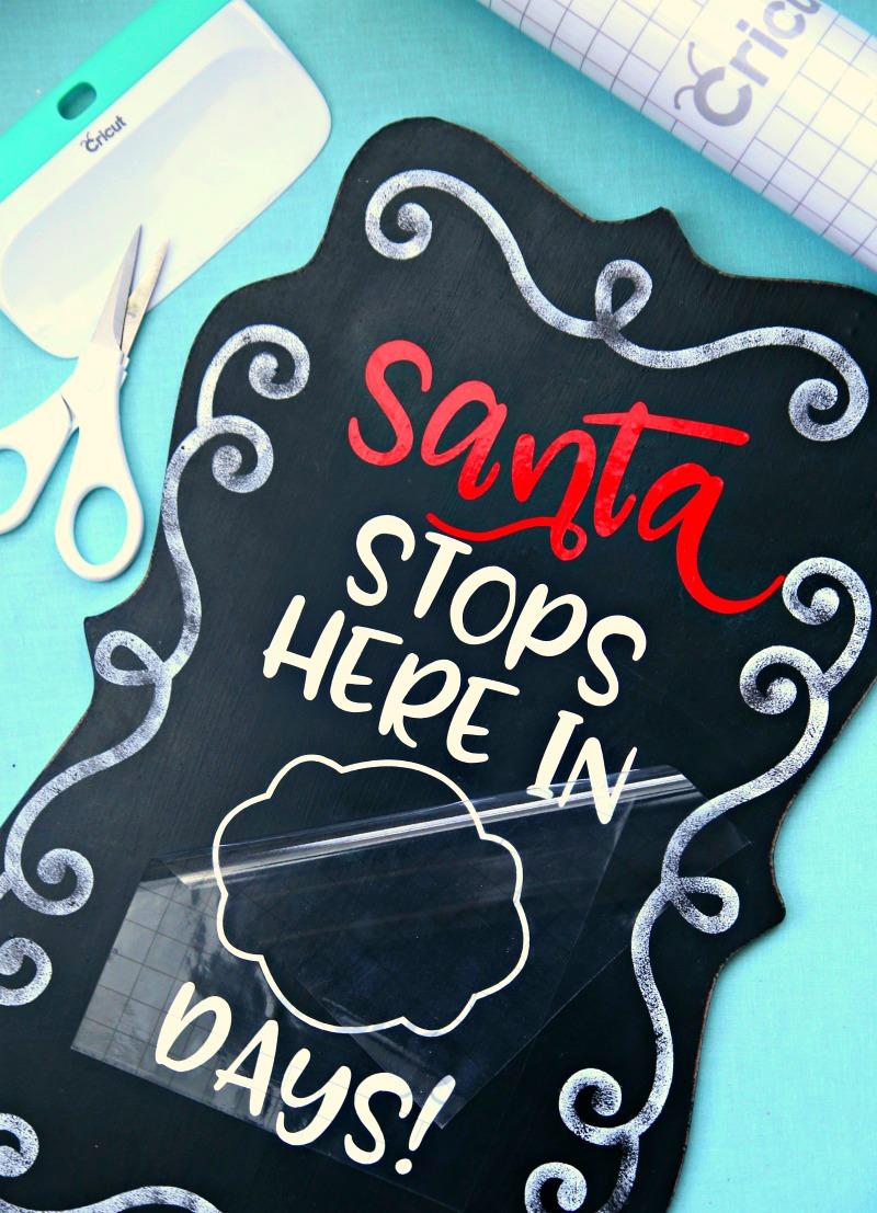 Santa Countdown Step 3