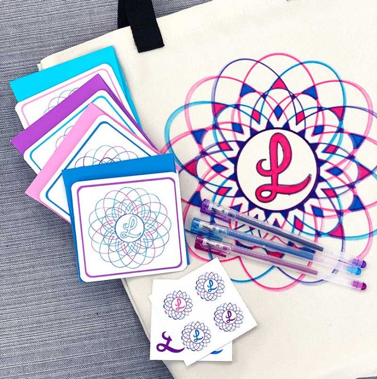 Make a Personalized Tote and Stationery Gift Set with Cricut Explore Air 2