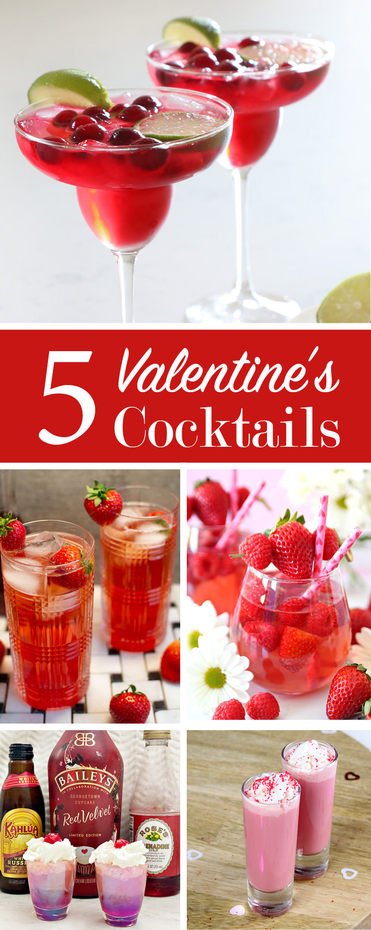 "Valentine""s Day Cocktail Collection"