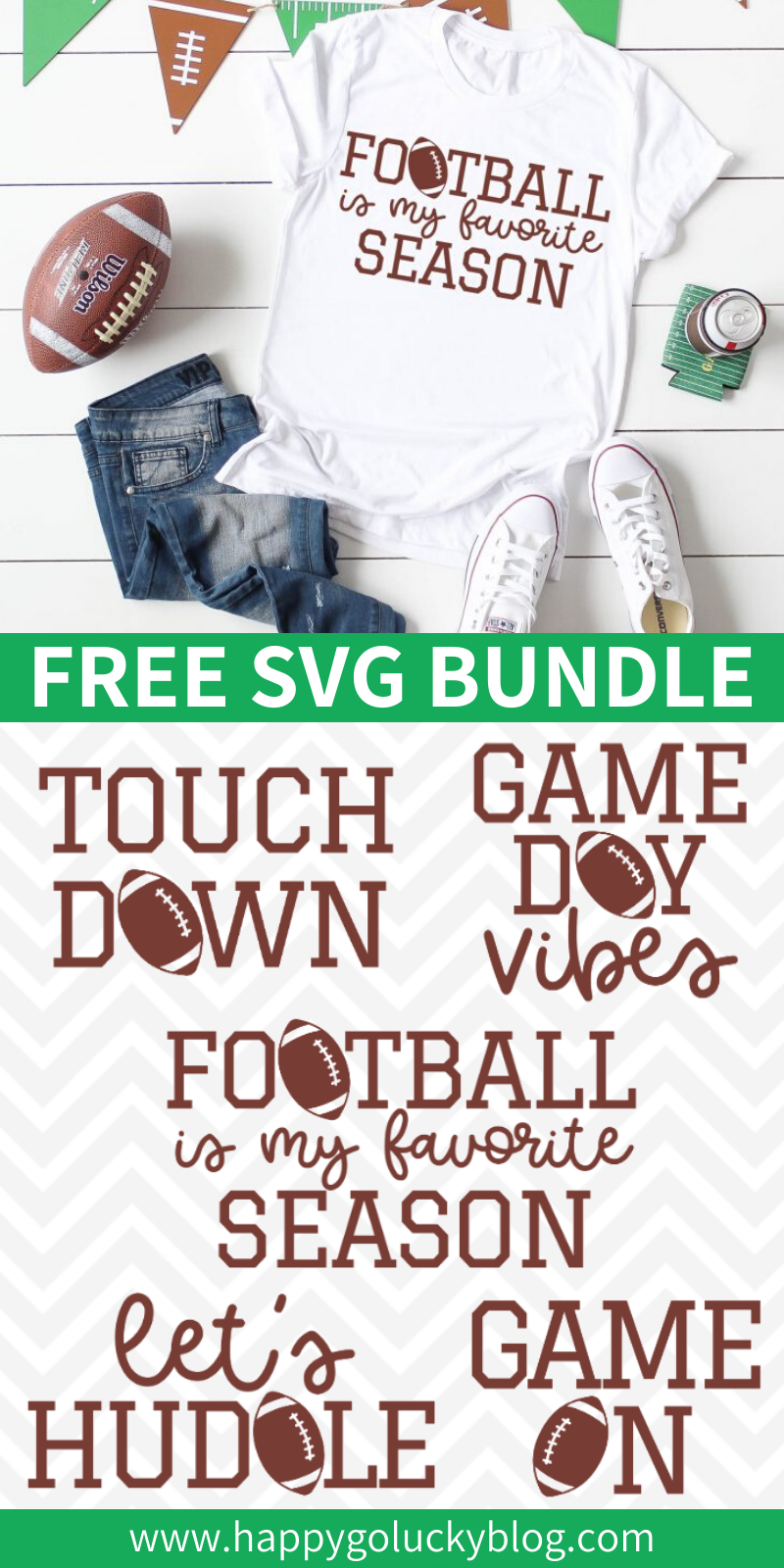 Free Football SVG Bundle
