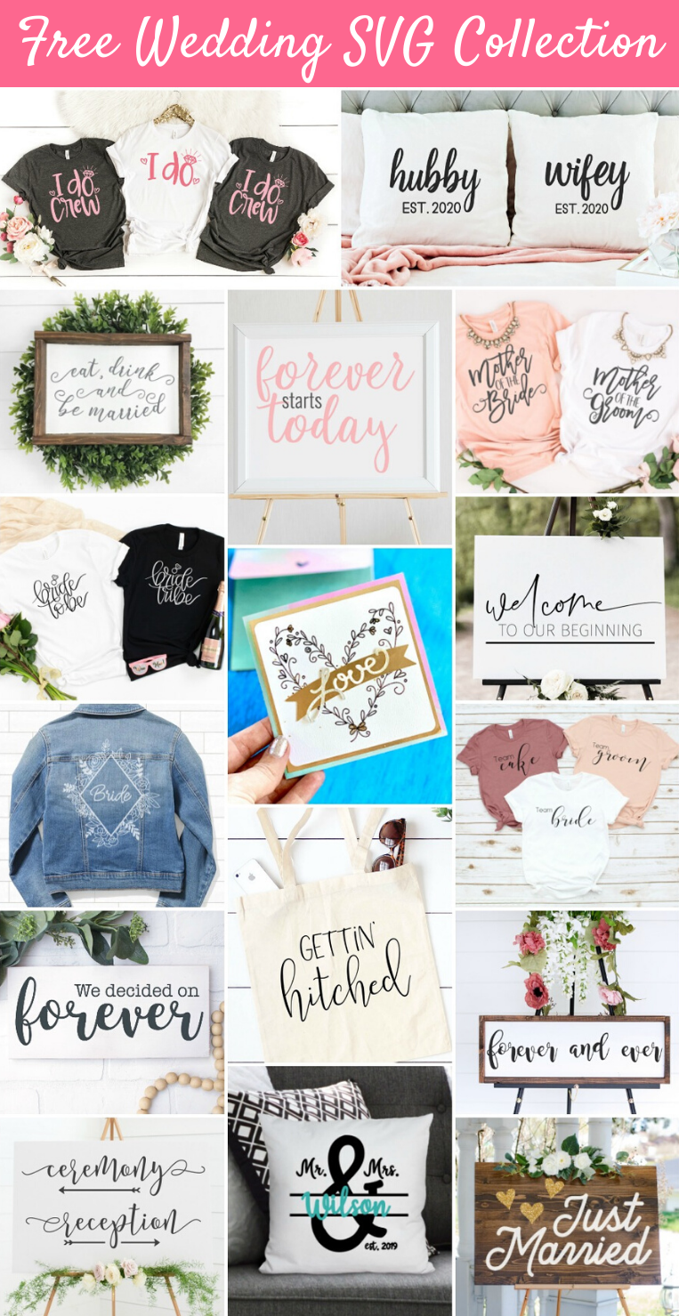 Wedding SVG Collection