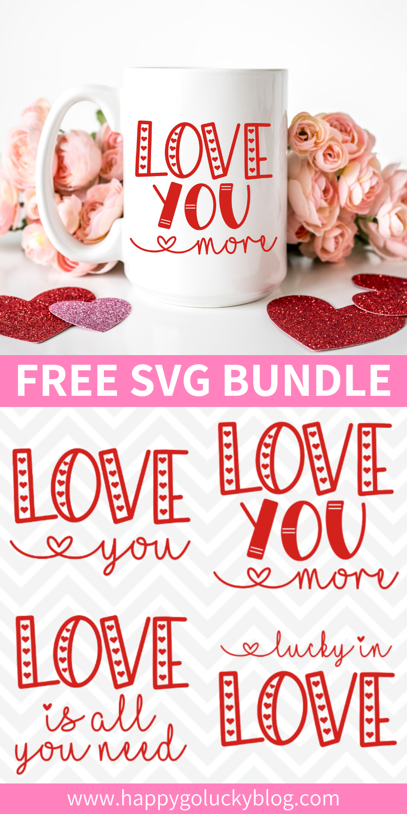 Valentine's Day Love SVG Bundle