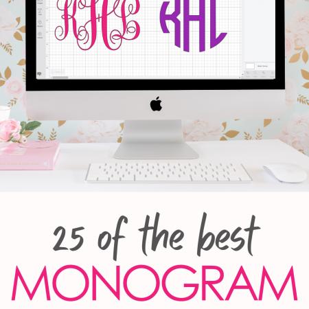 The Best Monogram Fonts