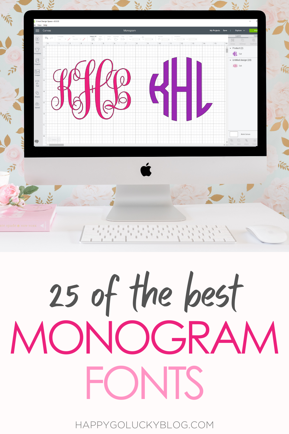 25 of the Best Monogram Fonts