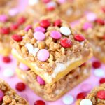 Valentine's Day Pay Day Bars Recipe