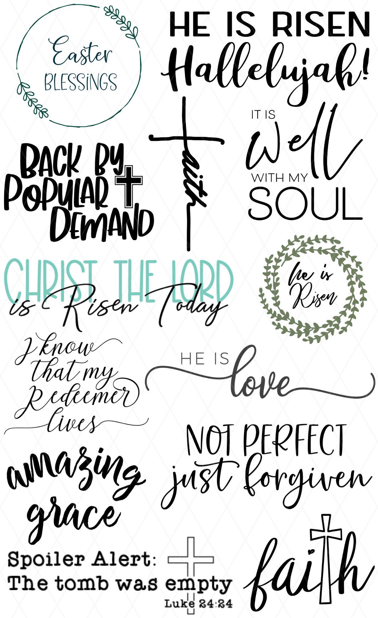 Free Christian SVG Collection