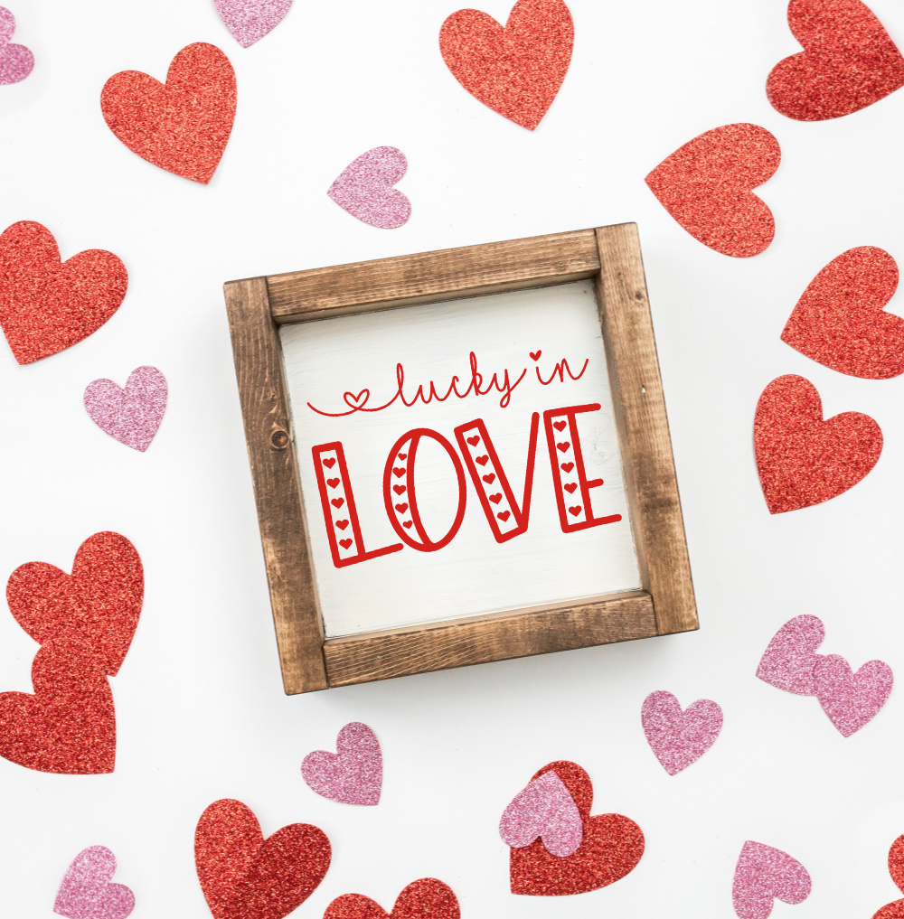 Valentine's Day Sign Love SVG Bundle