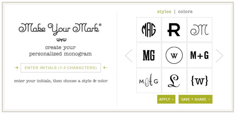 25 Of The Best Monogram Fonts Happy Go Lucky