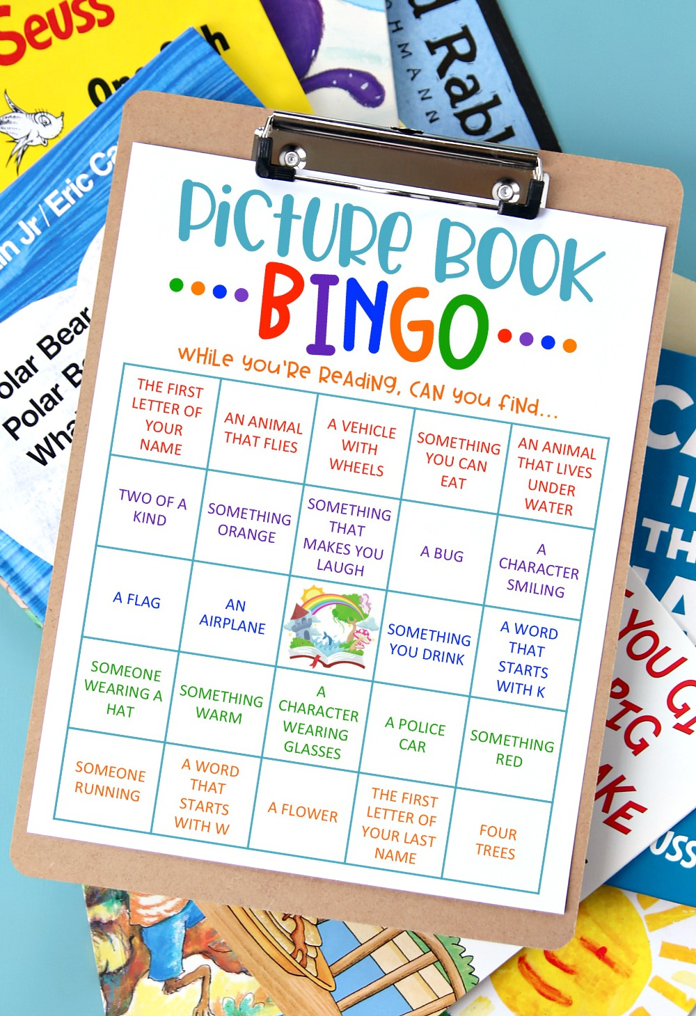Picture Book Bingo