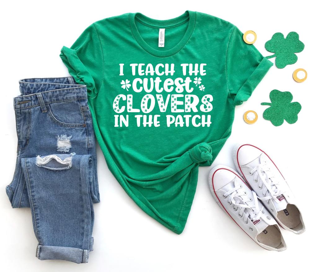 St. Patrick's Day Teacher SVG Bundle - Teacher St. Patrick's Day SVG