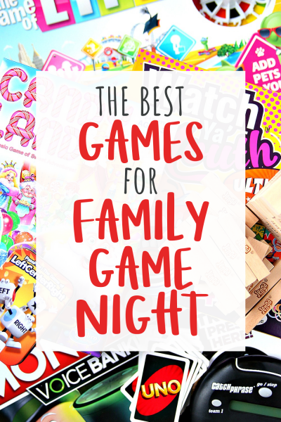 Over 25 games perfect for Family Game Night
