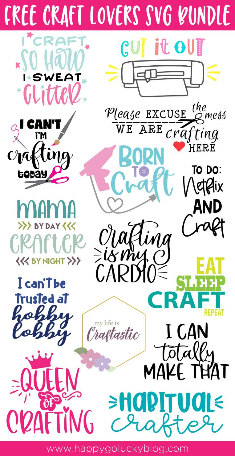 Craft Lovers SVG Bundle