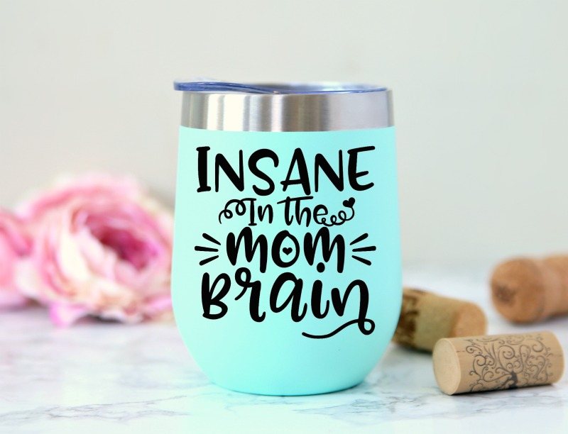 Insane in the Mom Brain SVG