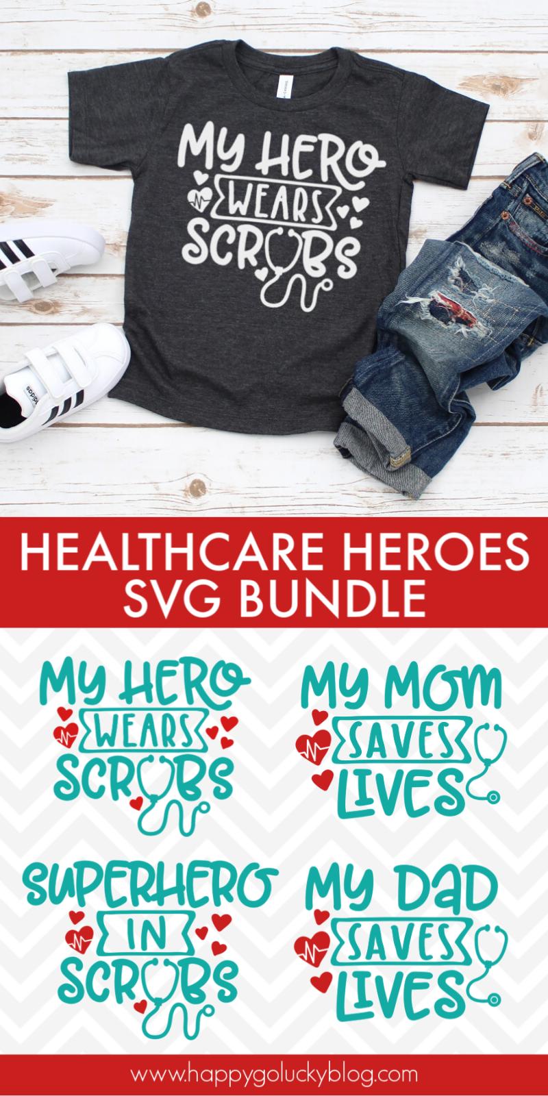 Healthcare Heroes SVG Bundle