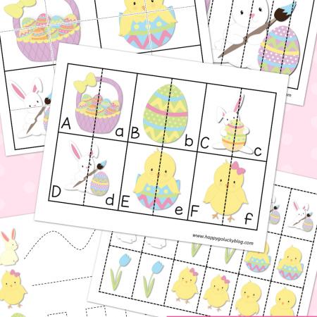 Easter Preschool Activity Pack