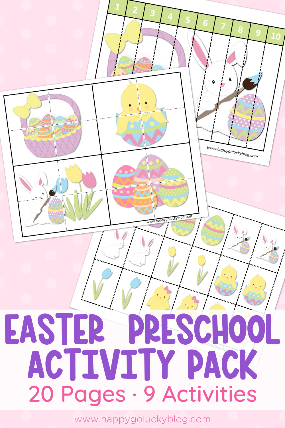 Easter Preschool Activity Pack