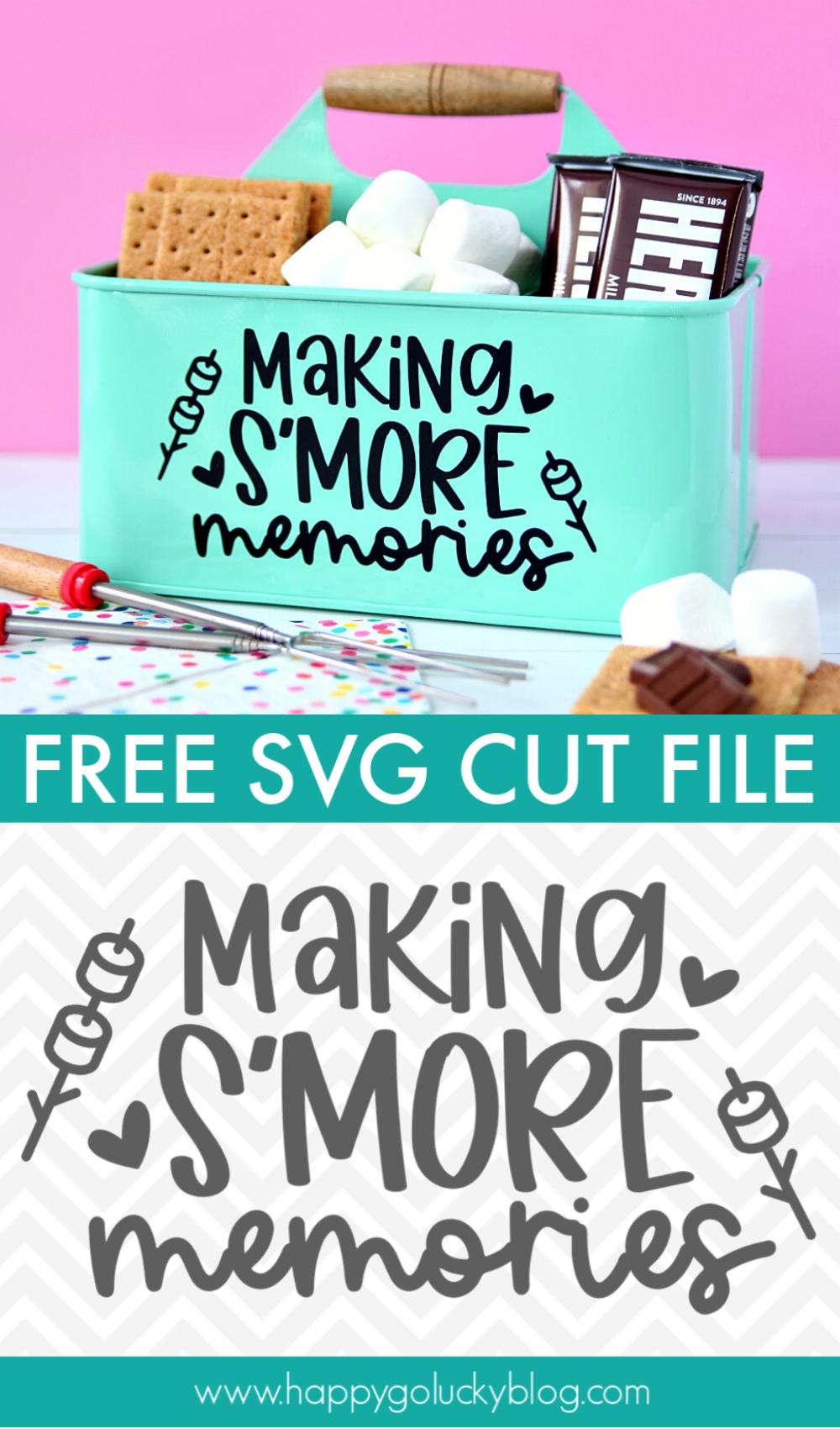 Making S'more Memories SVG