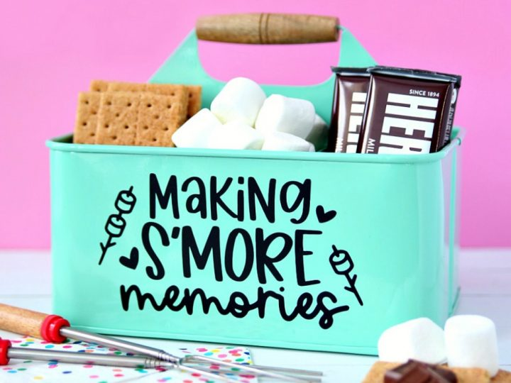 S'mores Caddy with Free SVG Cut File