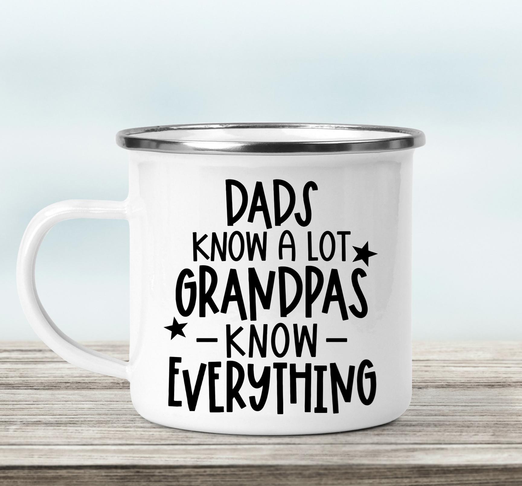 Grandpa Mug with Free SVG Cut File
