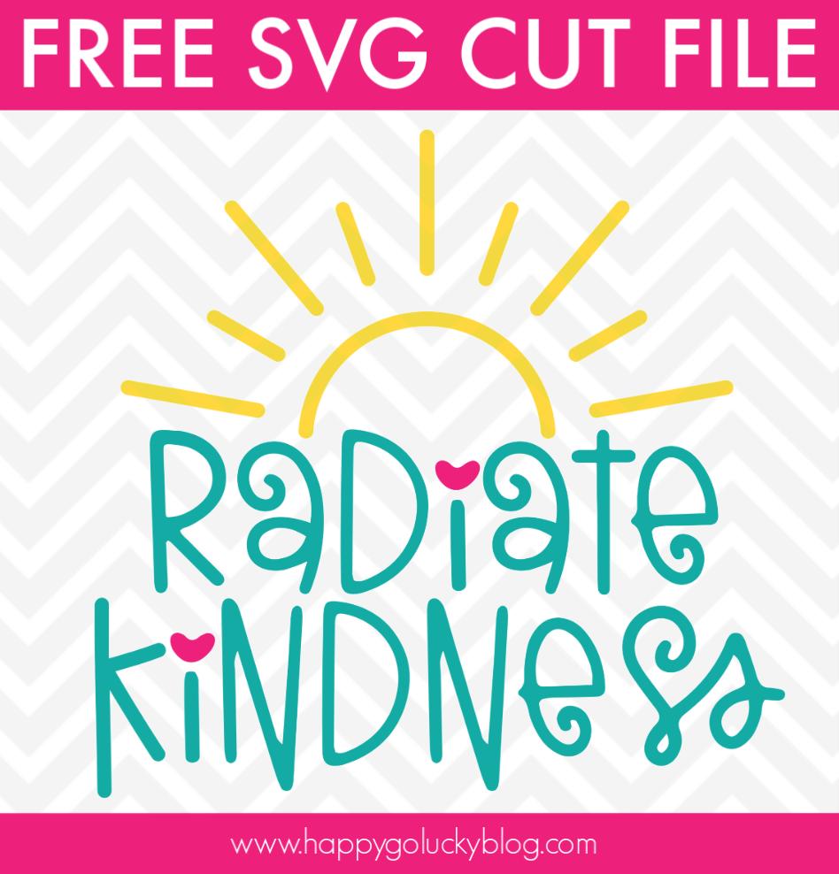 Radiate Kindness SVG