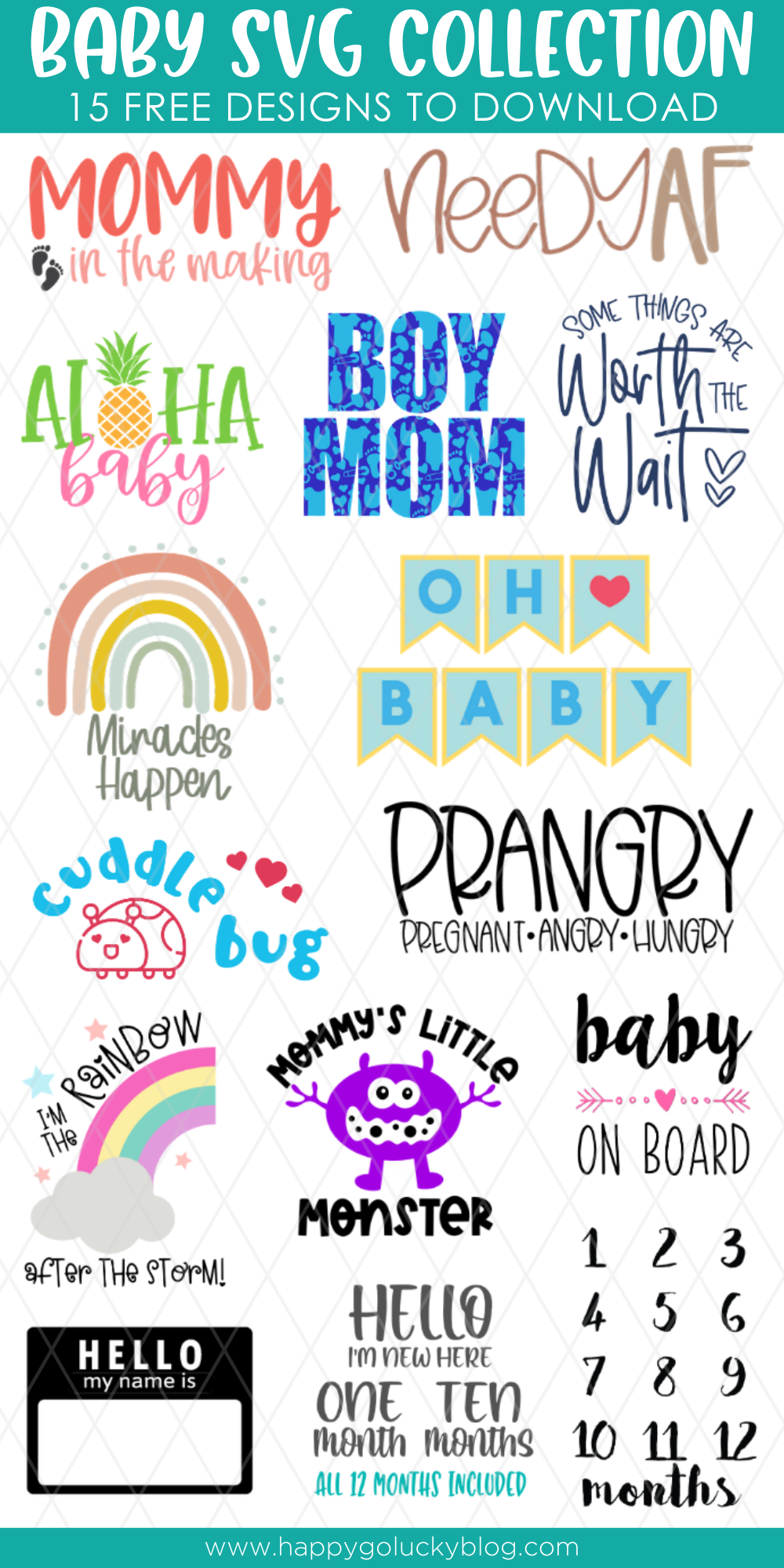 Baby SVG Collection