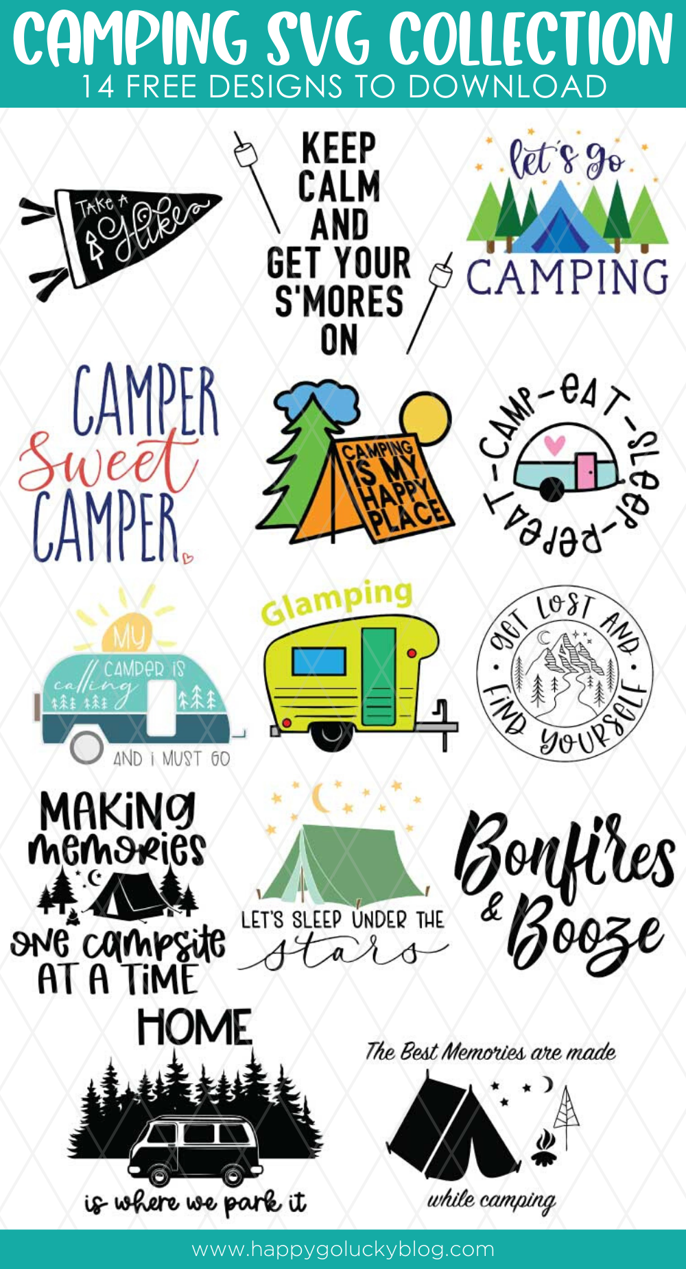 Camping SVG Collection