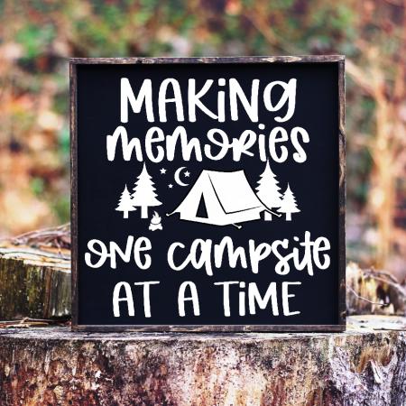 Making Memories Camping SVG