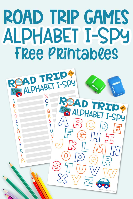 Road Trip Games Alphabet I-Spy