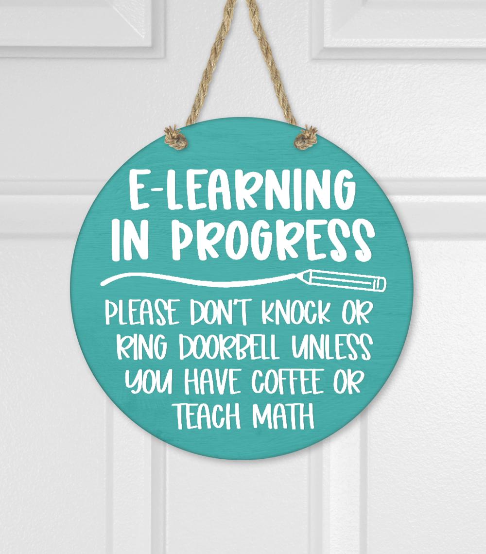 E-Learning In Progress