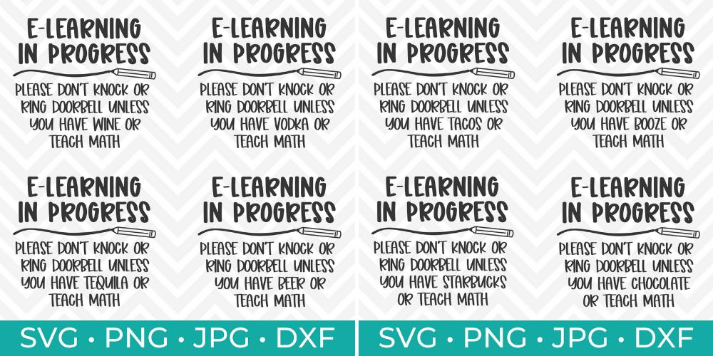 E-Learning in Progress 8 Designs