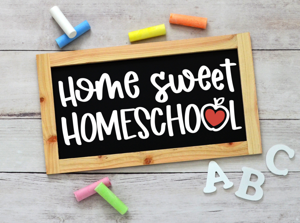 Home Sweet Homeschool SVG