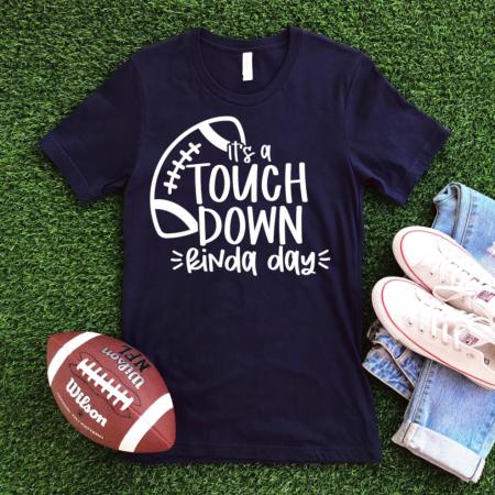 Touchdown Kinda Day Football SVG