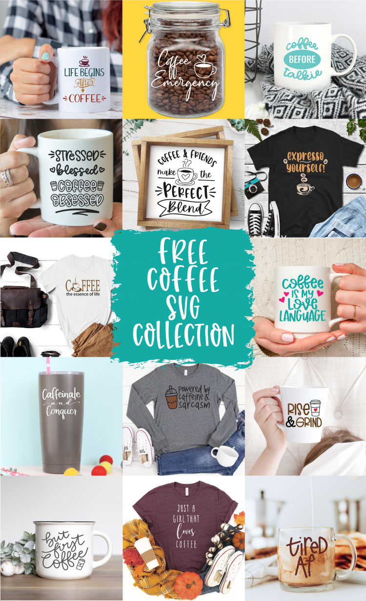 Free Coffee SVG Collection