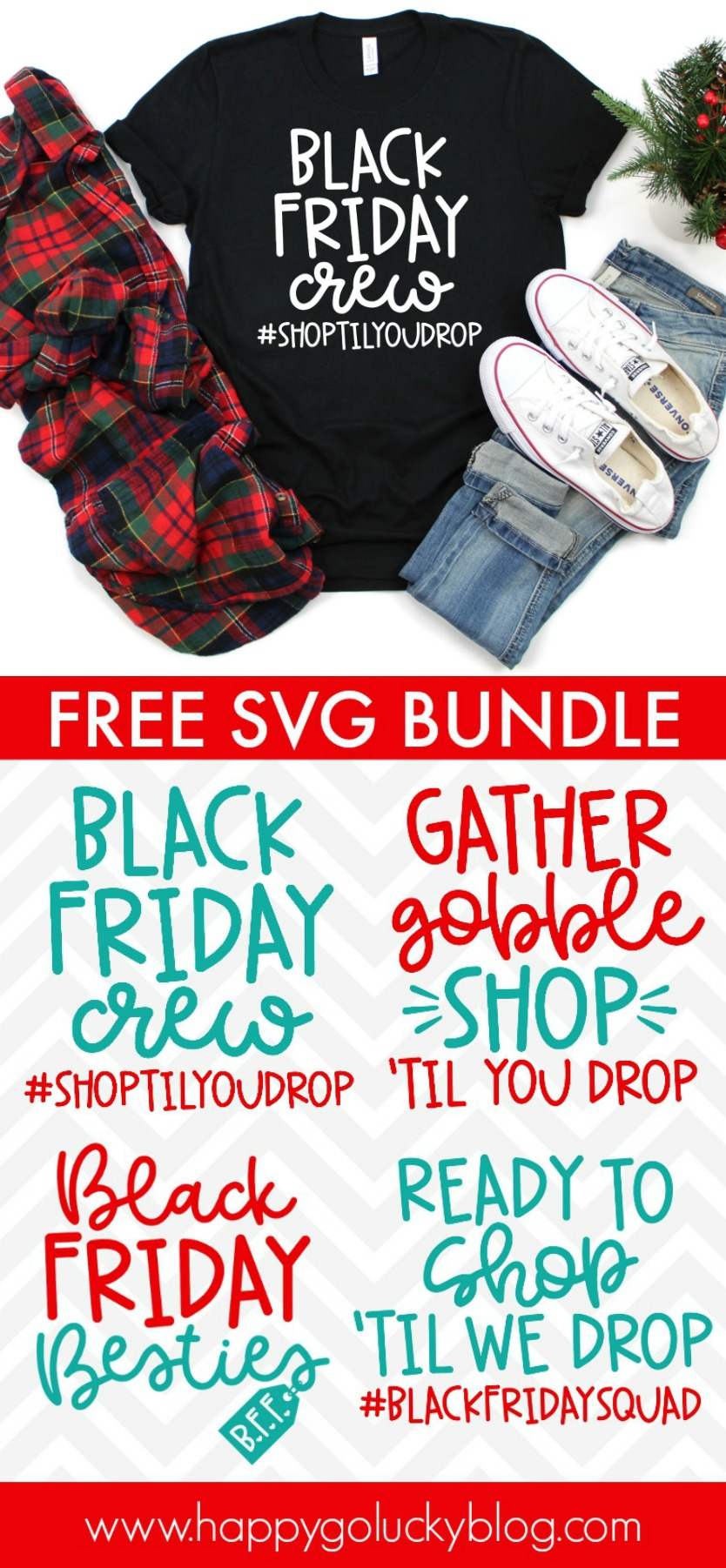 Collection of Free Black Friday SVG Cut Files