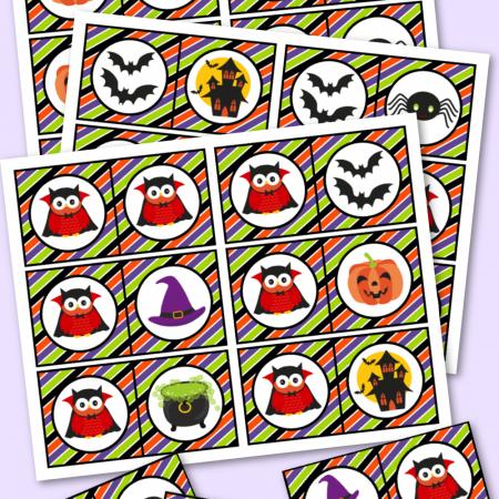 Halloween Dominoes Free Printable